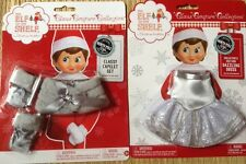 Elf On The Shelf Clothes. Classy Capelet And Dazzling Dress. New