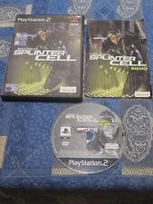 PS2 : TOM CLANCY' S SPLINTER CELL - Completo, ITA ! Prima stampa!