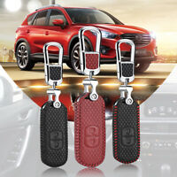For Mazda 2/3/6 CX-5 buttons Smart Key Keyless Remote Entry Fob Case Key Chain