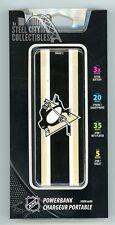 Pittsburgh Penguins Power Bank USB/Micro USB Phone Charger