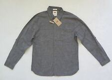 Camisas y polos de hombre de manga larga gris Levi's