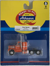 Athearn HO KW Kenworth Owner-Operator Truck Tractor Orange/White 1/87 ATH41047