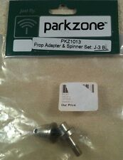 Parkzone Prop Adapter & Spinner Set: J-3 BL - PKZ1013
