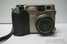 Used & Untested Olympus Camedia C-3000 Zoom Gray Digital Camera Parts or Repairs