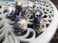 Sodalite Crystal Skull AAA+ 50mm  Throat Chakra / Calming / Harmony / Truth