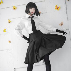 Stray Dogs Akiko Yosano Cosplay Costume Women Girls JK Uniform Full Set Outfit