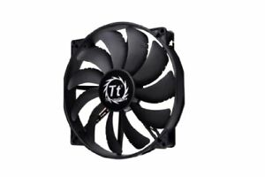 Thermaltake 200mm Pure 20 Series Black 200x30mm Thick Quiet High Airflow Case...