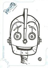 Robots the Movie Sketch Card 201/511 by Joel A. Gomez from Inkworks