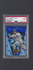 Mike Piazza ** Mirror Blue ** PSA 9 ** 1997 Pinnacle Cert #25 ** Dodgers