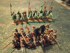 Warhammer Empire or Mercenary Brigade 28 well painted inf & cav