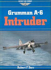GRUMMAN A-6 INTRUDER, DORR, OSPREY AIR COMBAT, NEW  BOOK ON SALE  $49.88