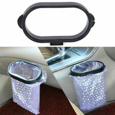 Car Interior Accessories Storage Bag Holder Rubbish Bin Organizer Trash Bag Rack