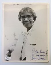 Congresswoman Shirley Chisholm Signed Autographed 8 x 10 Photo JSA - FREE S&H!