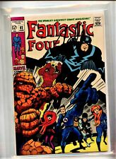 Fantastic Four #82 Kirby MARVEL COMIC Signed by Stan Lee w Numbered COA & Seal
