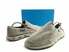 Columbia Sunvent Men's Wet Sand Comfort Slip On Moccasins US 9.5 Shoes B944