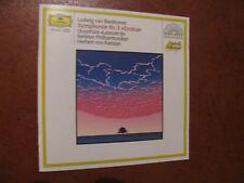 BEETHOVEN symphonie nr.3-Karajan-CD- D.G. -fino 2 cd spese fisse-oltre vedi