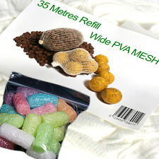 PVA mesh 35 metre refill plus coloured nuggets