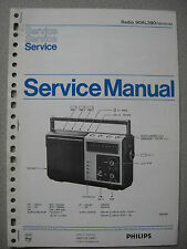 Philips 90 AL390 Kofferradio Service Manual
