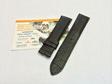 Cinturnino pelle nera stampa cocco Raymond Weil 7789 o 7792