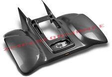 NEW HONDA TRX 400EX 99 - 07 BLACK CARBON FIBER REAR FENDER PLASTIC TRX400EX