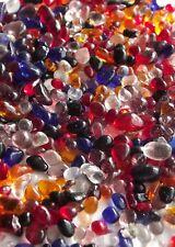 Verre 250g mini galets couleurs mélangées 3-6mm maison jardin mosaïque aquariums de mariage