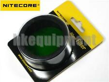 NiteCore NFG60 60mm Green Lens Cap Filter TM11, TM15, MH40, EA8 Flashlight
