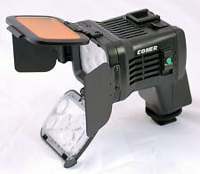 Comer Professional LED Video Light for Sony HD Camcorder NP-F970 NP-F770 bATTERY