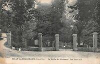Billy-les-Chanceaux - Côte d'Or - la grille du château