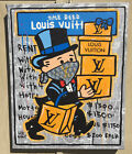 Will $treet original painting 🛍/ Monopoly Art banksy kaws beeple alec LV