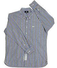 Men's LA MARTINA Button Down Long Sleeve Striped Multicolor Cotton Size L