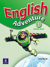 English Adventure Level 1 Activity Book, Anne Worrall, New Book