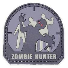 Mil-spec monkey airsoft patch-zombie hunter pvc-gris/noir