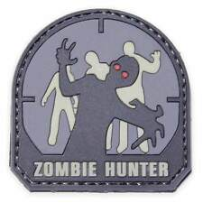 Mil-Spec Monkey airsoft Patch - Zombie Hunter PVC - grey/black