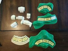 The Game of Life 1981 Replacement Pieces Parts houses hills for game board.