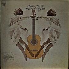 BADEN POWELL: Solitude on Guitar-1973LP EBERHARD WEBER