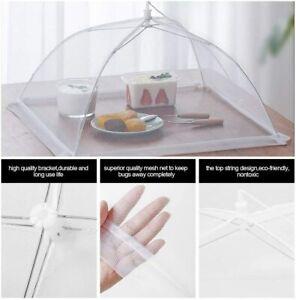 "16"" Pop-Up Mesh Screen Food Cover Tent Umbrella for Outdoor Picnic BBQ Party"