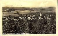 Dornstetten Schwarzwald  alte Ansichtskarte 1951 Gesamtansicht Panoramablick