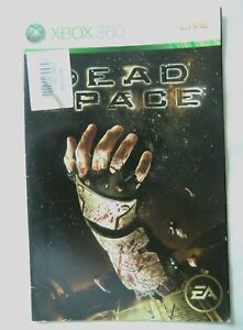 57033 Instruction Booklet - Dead Space - Microsoft Xbox 360 (2008)