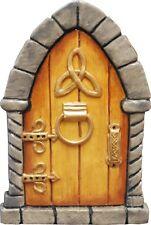 TAN Irish Celtic Fairy Door for Garden Faeries Pixies In/outdoor Sold by Maker