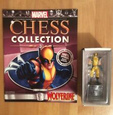 Marvel Comics Official Chess Collection Number 3 Wolverine White Knight Figure