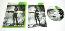 Tomb Raider (Microsoft Xbox 360, 2013) Complete No Scratch on the CD