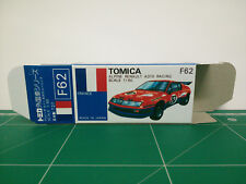 REPRODUCTION BOX for Tomica Blue Box No.F62 Alpine Renault A310 Racing