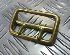 Genuine Vintage Military Issue Brass Sam Browne Belt Buckle Double Prong SBUK01