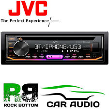 JVC Bluetooth CD MP3 Front Aux USB iPhone Car Stereo Radio Player JVC KD-R992BT
