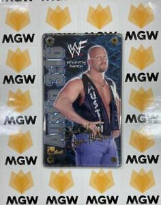 Authentic Images WWF Austin 3:16 24K Gold Signature Collectible Brand New