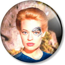 "Seven of Nine Star Trek Voyager 1"" 25mm Pin Button Badge TV Sci-Fi 7 of 9 Borg"