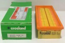 Crosland 8103 FILTRO ARIA FIAT CINQUECENTO 1.1, PUNTO 1.1 1.2 & SEICENTO 1.1