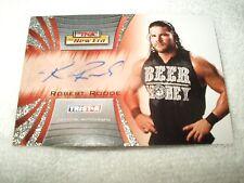 Tna Wrestling autógrafo tarjeta Robert Roode A34 2010