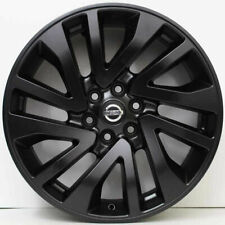 "4X Genuine NISSAN NAVARA SATIN BLACK 2019 ST-X D23 R18"" RIMS ONLY NP300 NO TYRES"