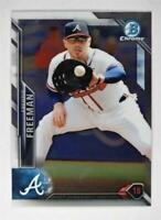 2016 Bowman Chrome '16 Bowman #7 Freddie Freeman - NM-MT
